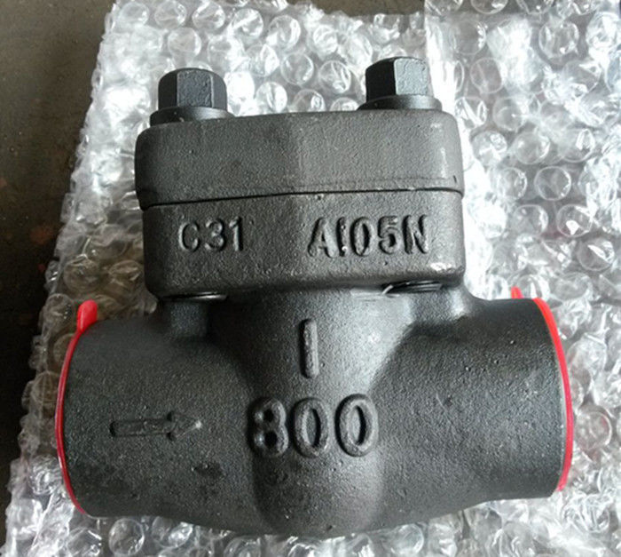 SW NPT RF RTJ Integral Check Valve API 602 With Low Fugitive Emissions Control