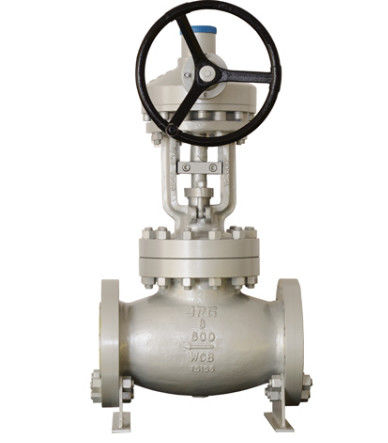 CF8C CN7M Body BS 1873 Globe Valve With Renewable Seat Ring Or Body Seat Ring
